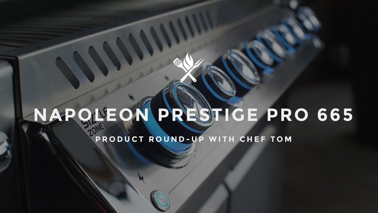 Product Roundup: Napoleon Grills PRO 665 Gas Grill with Infrared Side & Rear Burners