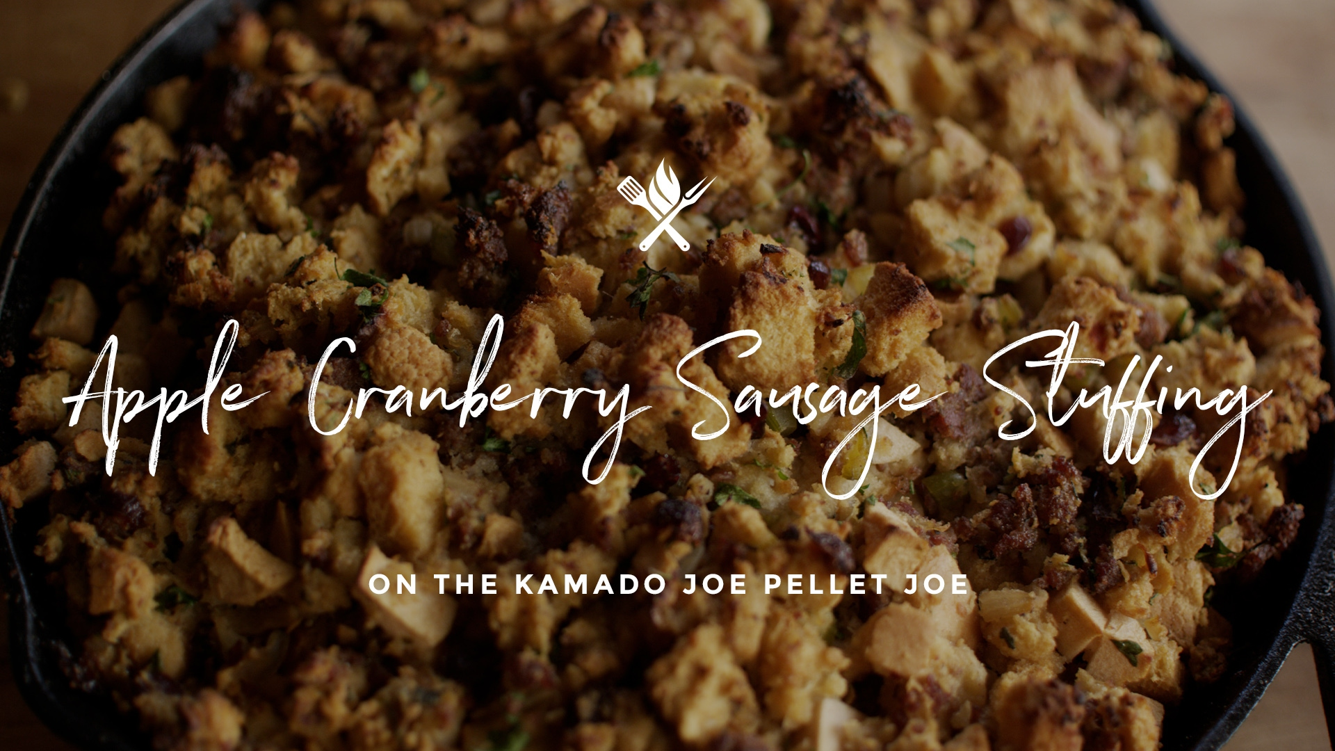 How to make Apple Cranberry Sausage Stuffing