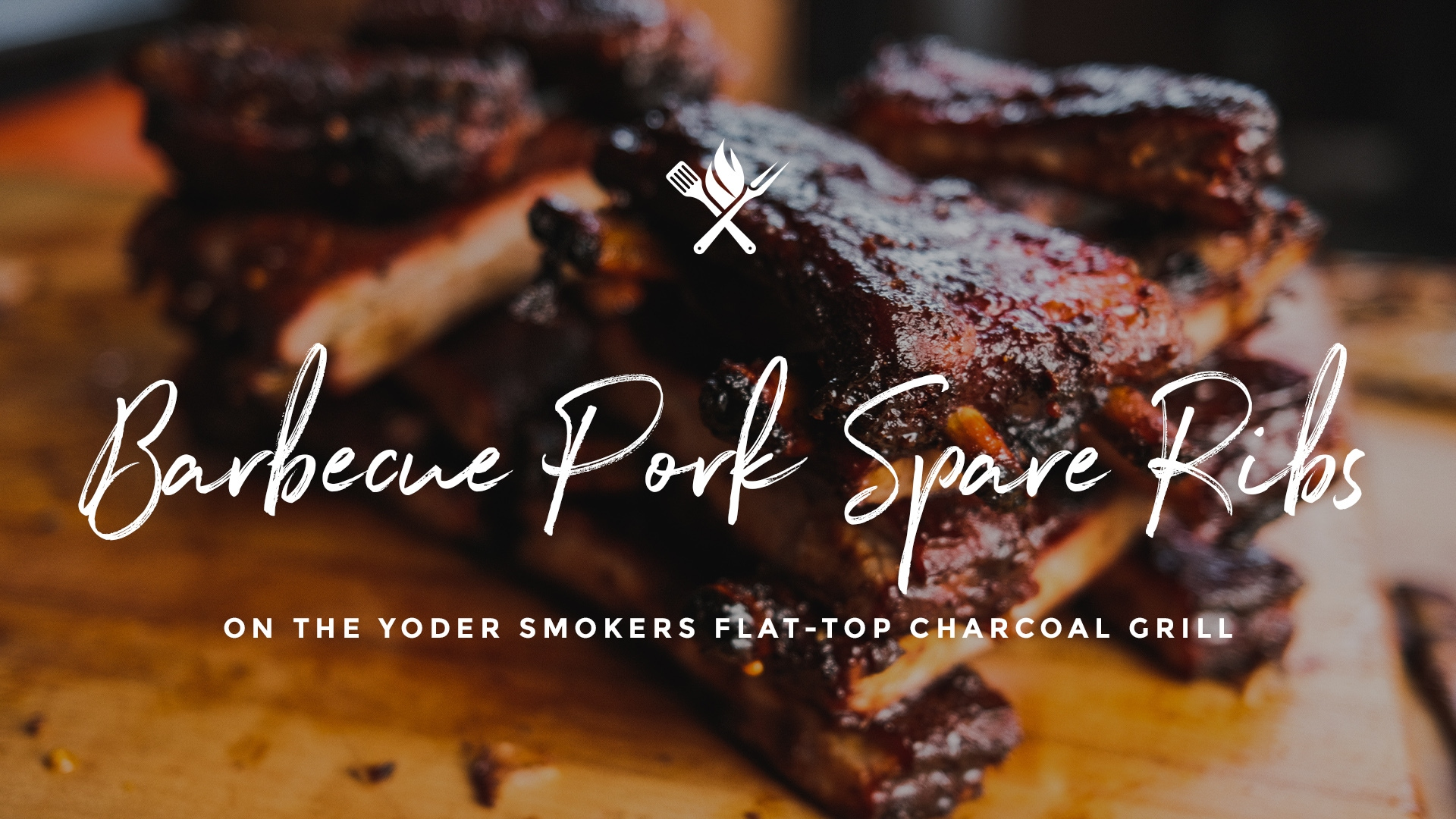 How to make Barbecue Pork Spare Ribs on the Yoder Smokers Flattop Charcoal Grill