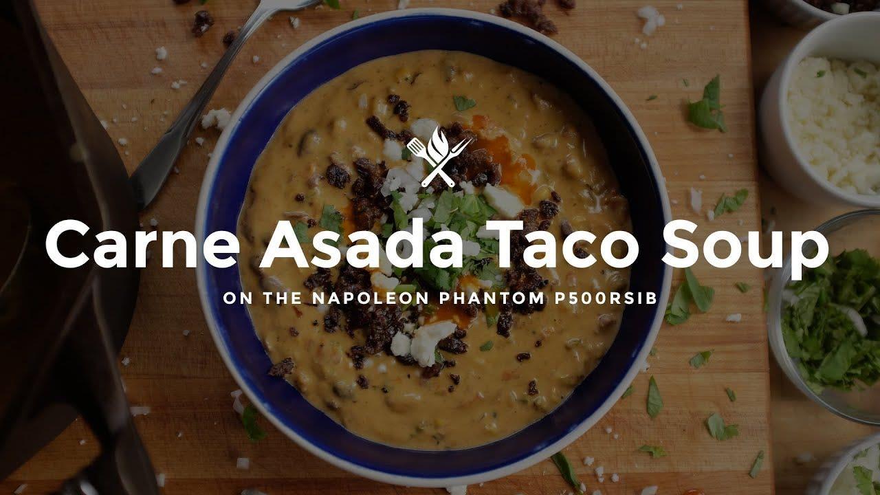 How to make Carne Asada Taco Soup