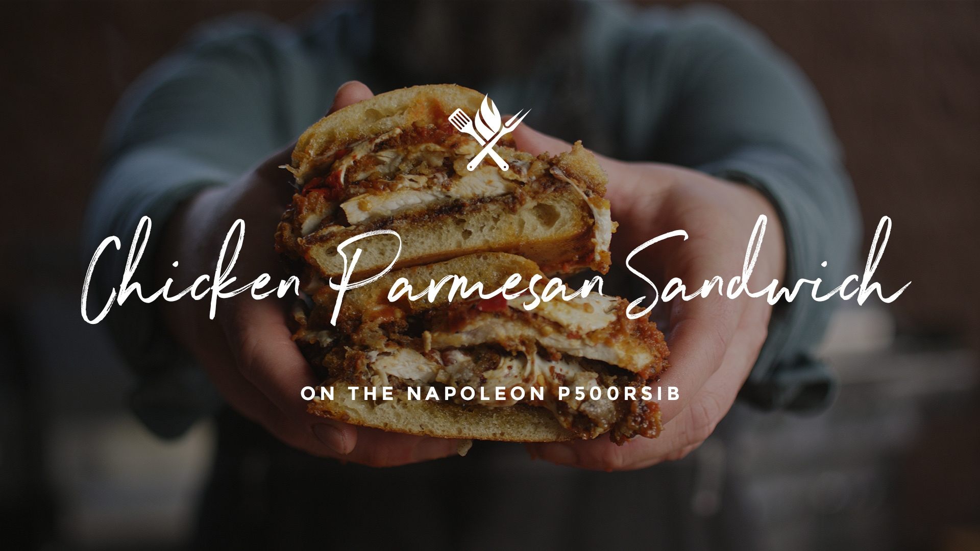 How to make a Chicken Parm Sandwich