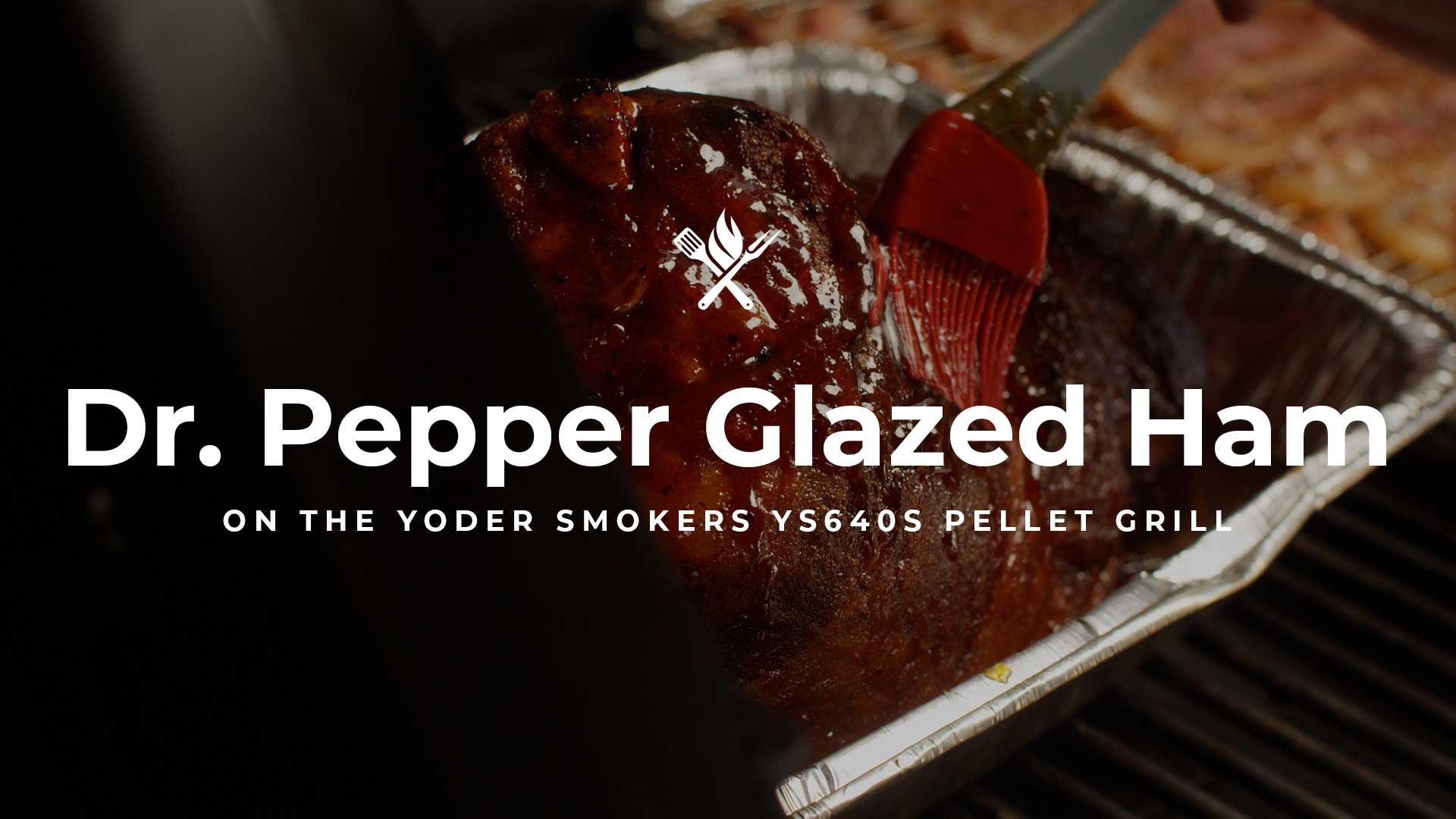 How to make Dr. Pepper Glazed Ham
