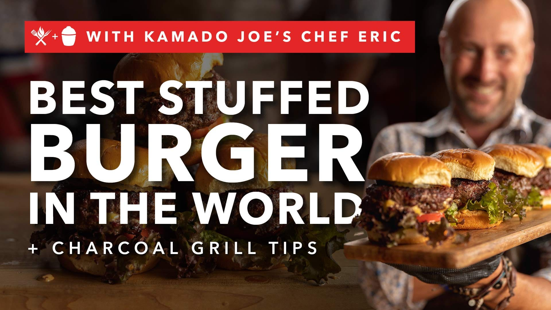 Juicy Lucy, or the Best Stuffed Burger in the World + Charcoal Grill Tips