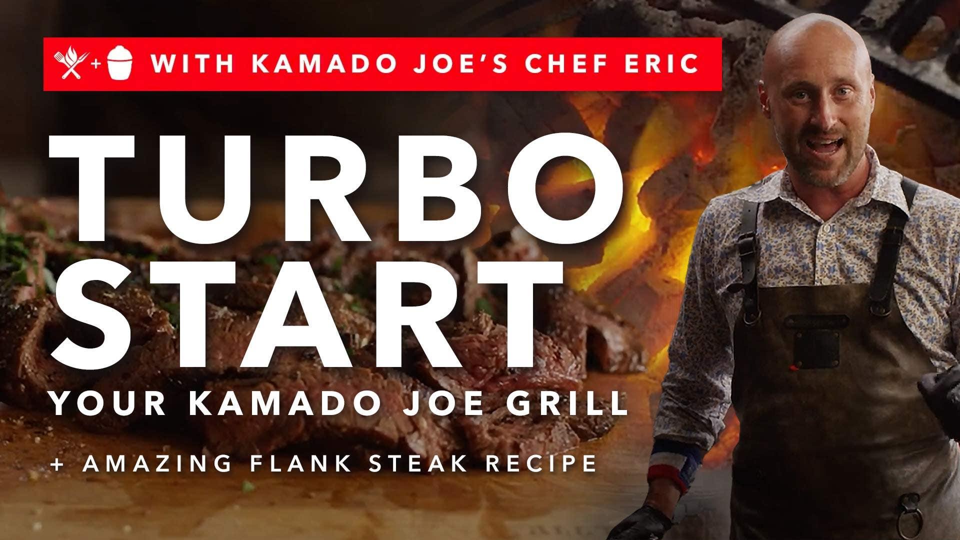 Turbo Start Your Kamado Joe Grill