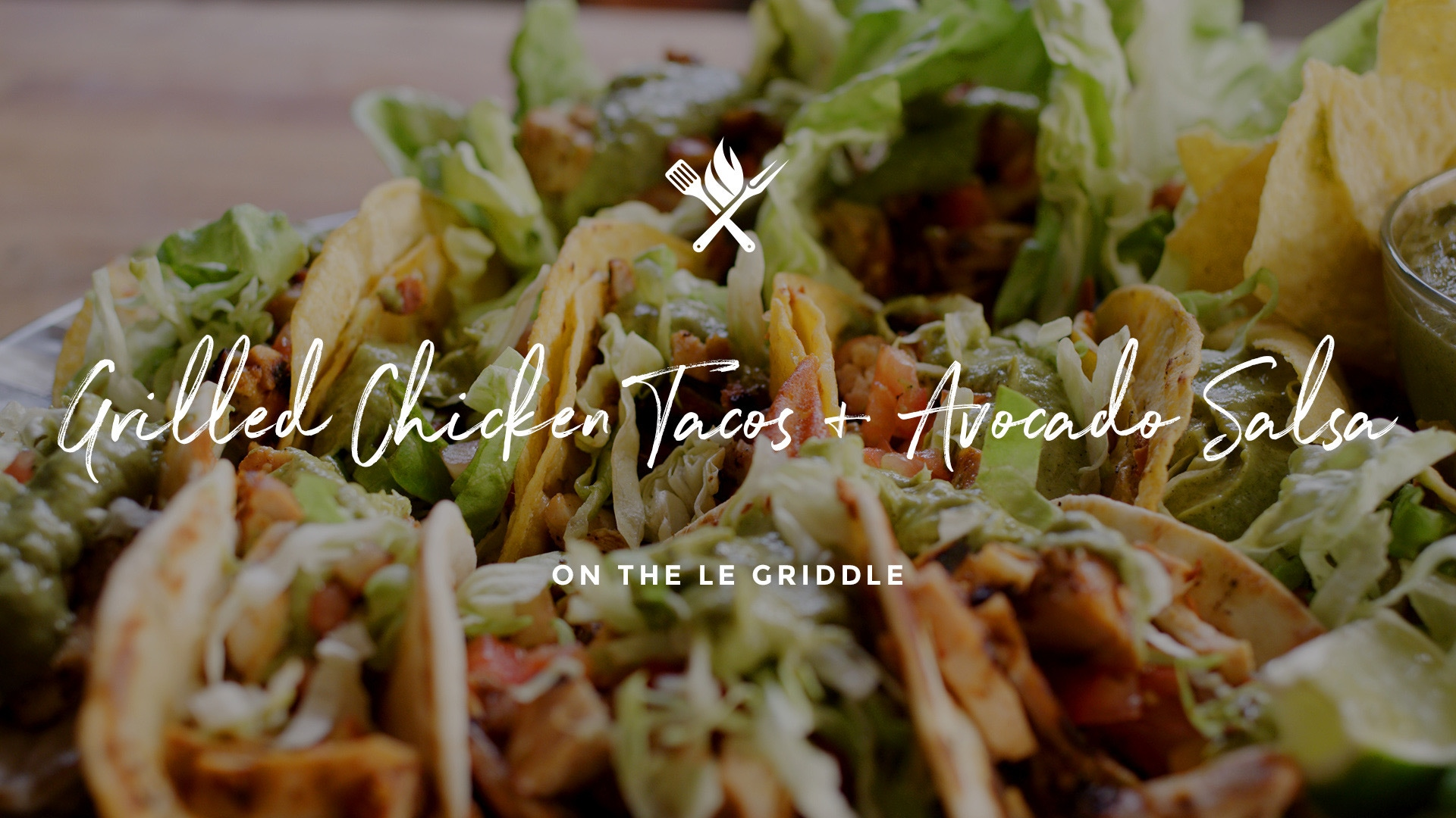How to make Grilled Chicken Tacos with Avocado Salsa