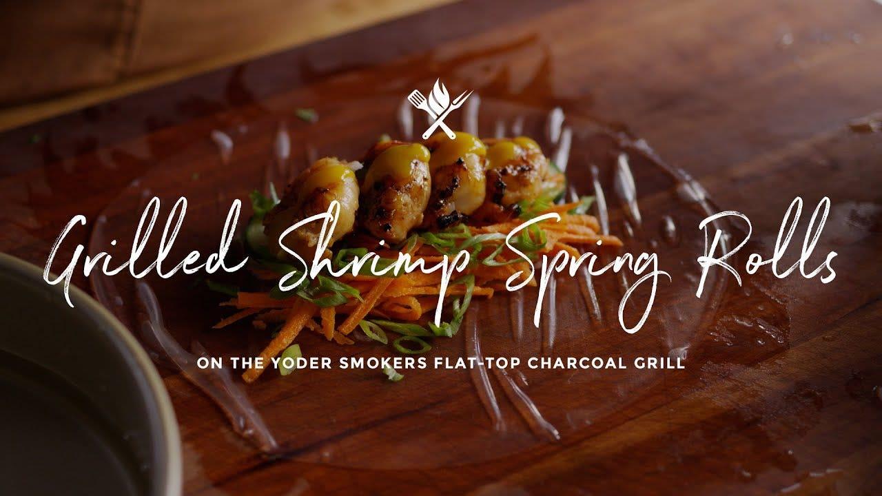 How to make Grilled Shrimp Spring Rolls