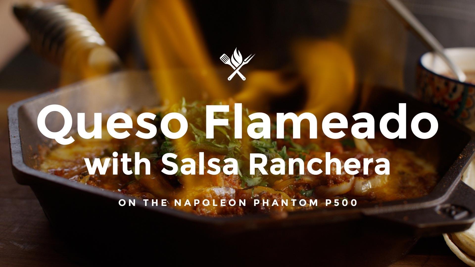 How to make Queso Fundido/Queso Flameado with Salsa Ranchera
