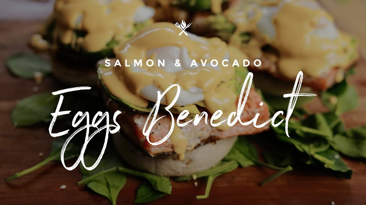 How to make Salmon & Avocado Eggs Benedict