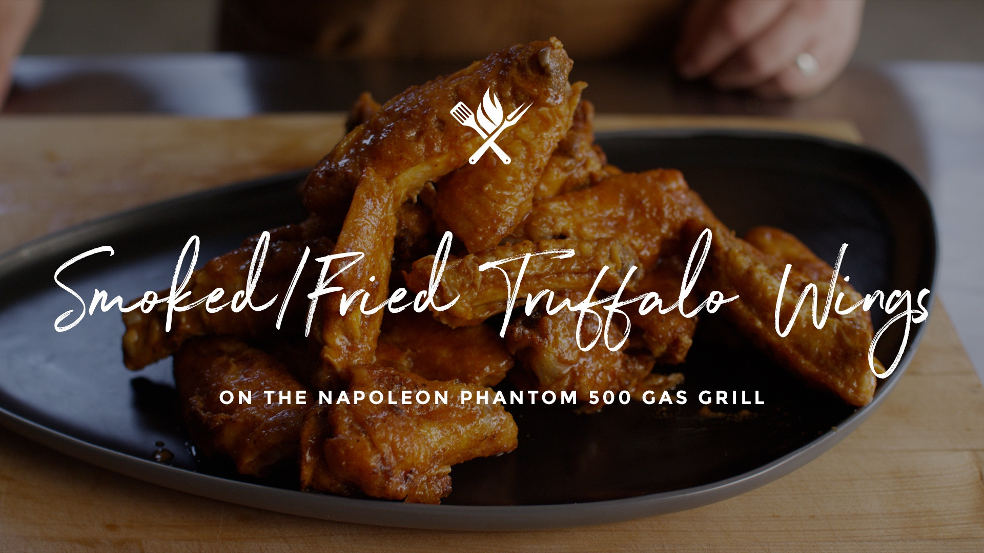 How to make Smoked Fried Truffalo Wings