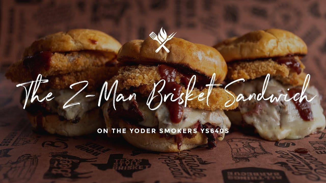 How to make The Z-Man Brisket Sandwich