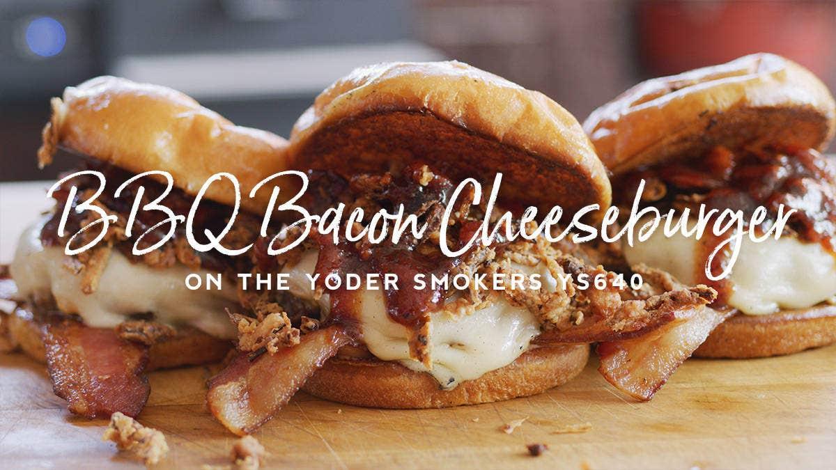 BBQ Bacon Cheeseburger Recipe