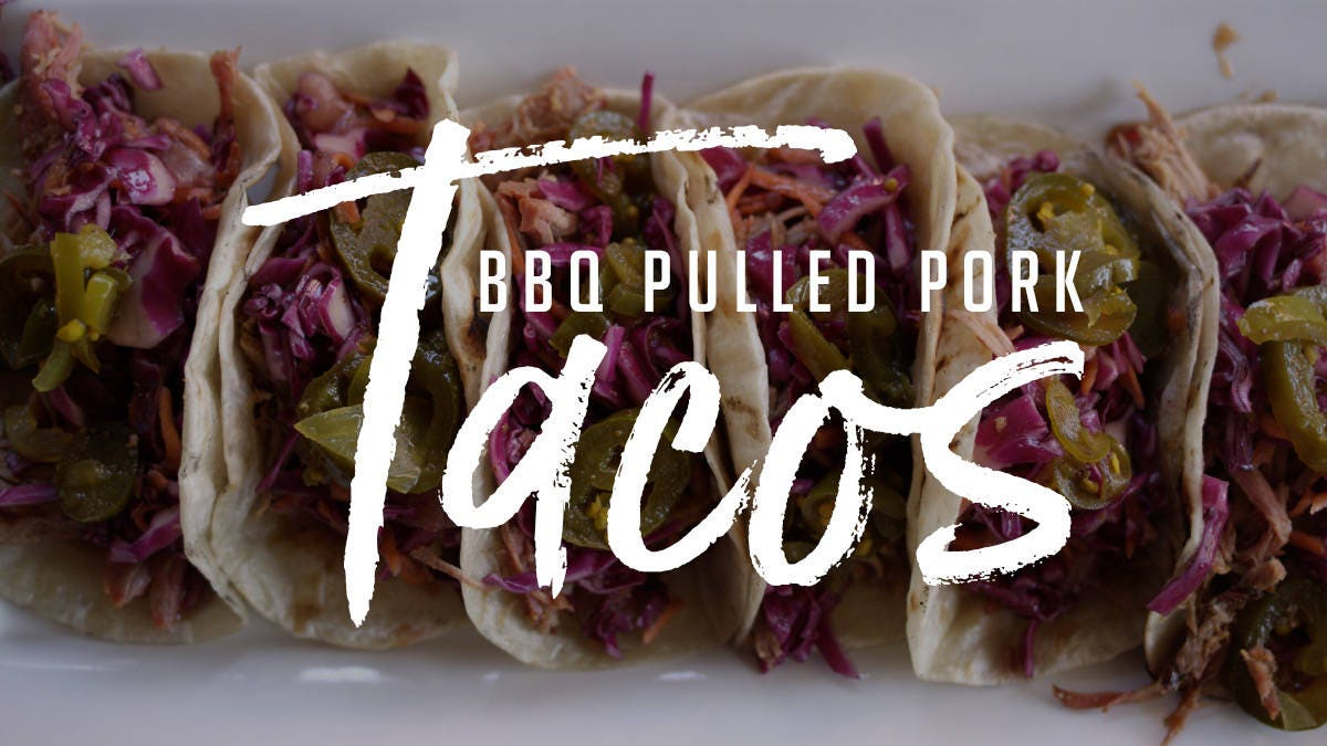 How to make BBQ Pulled Pork Tacos