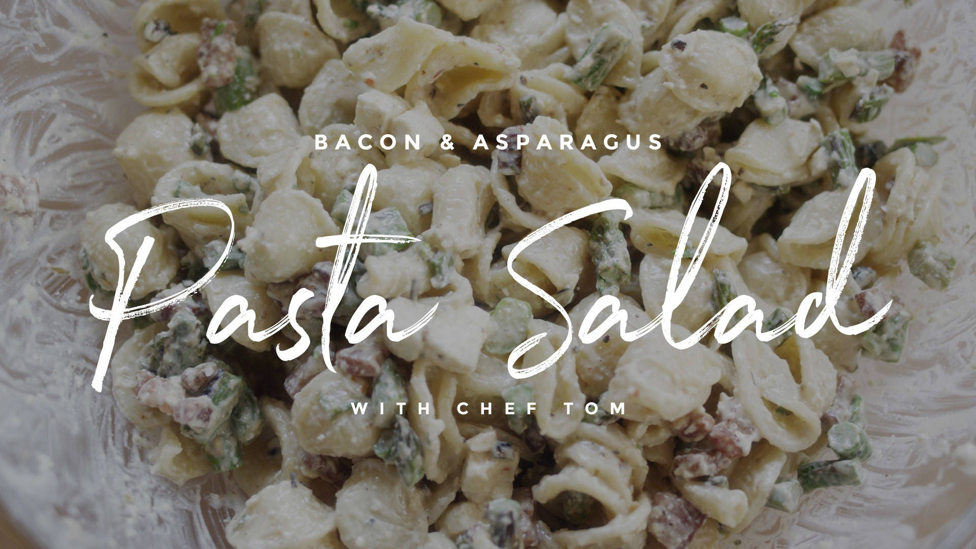 How to make Bacon & Asparagus Pasta Salad