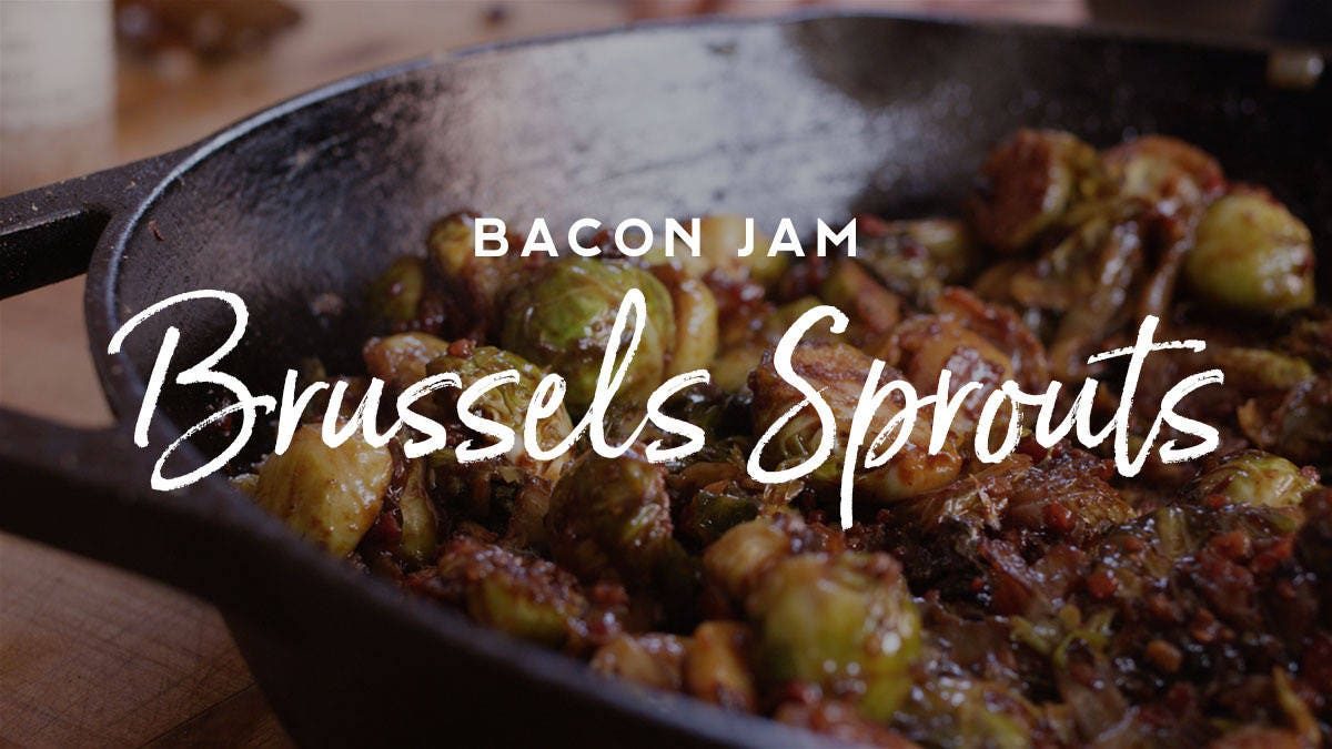 How to make Bacon Jam Brussels Sprouts