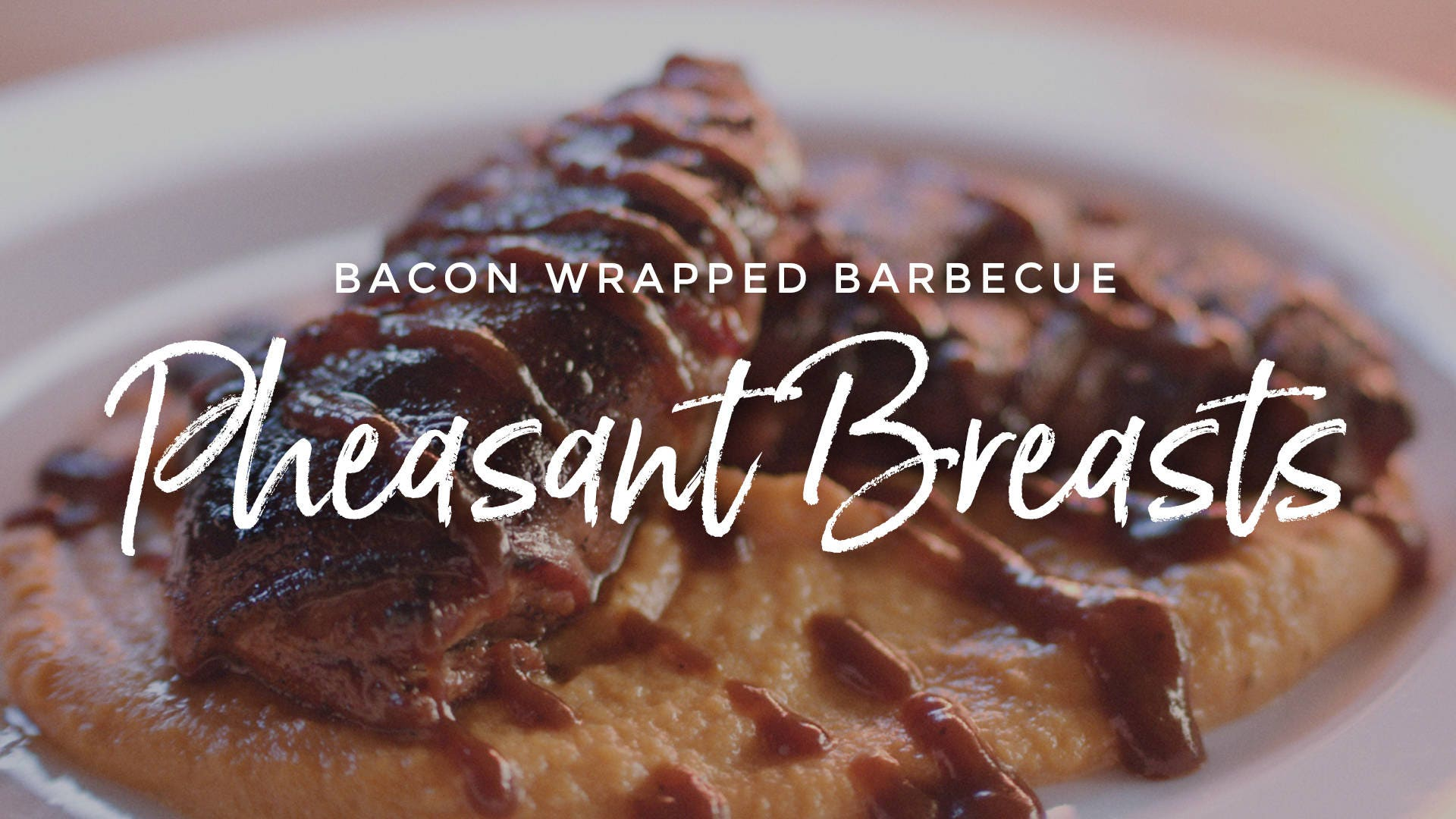 How to make Bacon Wrapped Barbecue Pheasant Breasts