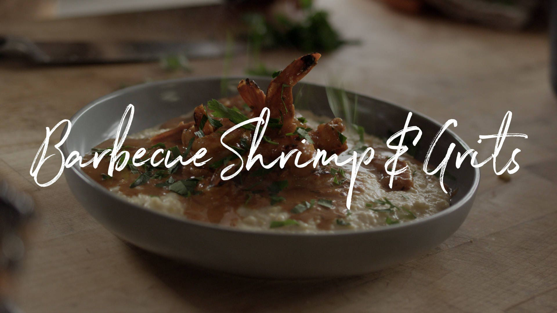 Barbecue Shrimp & Grits Recipe