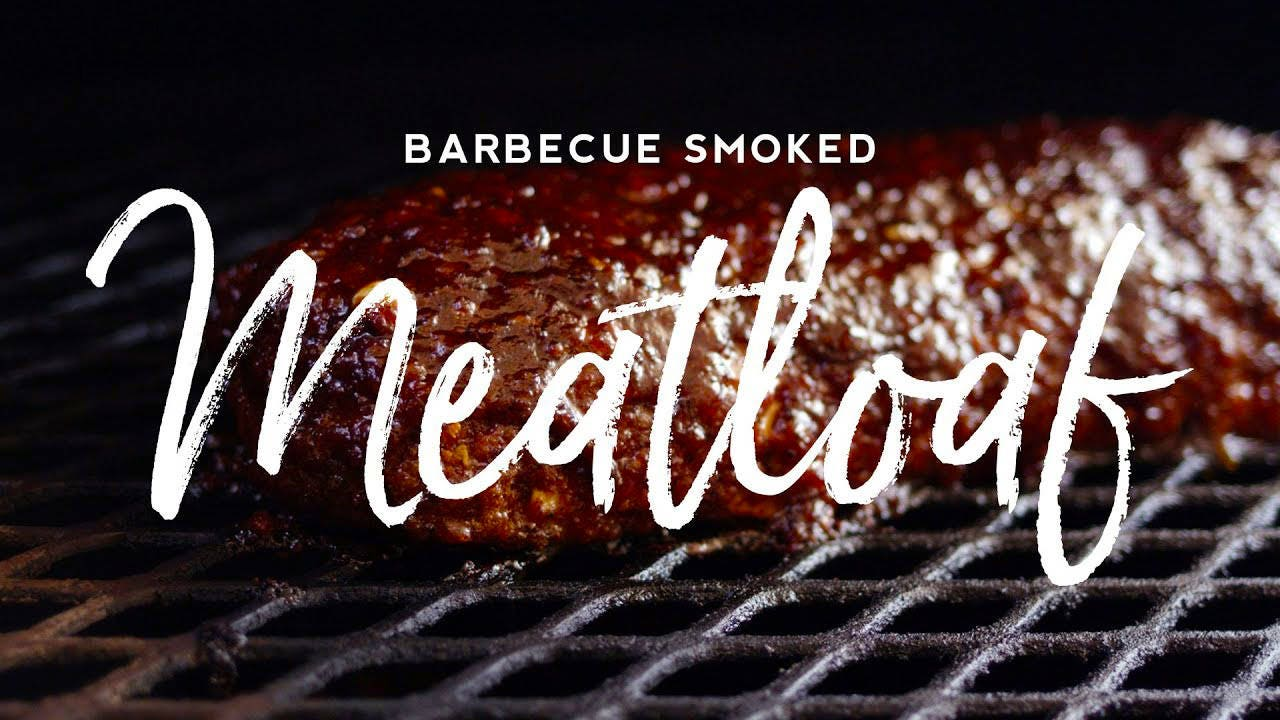 How to Make Barbecue Smoked Meatloaf