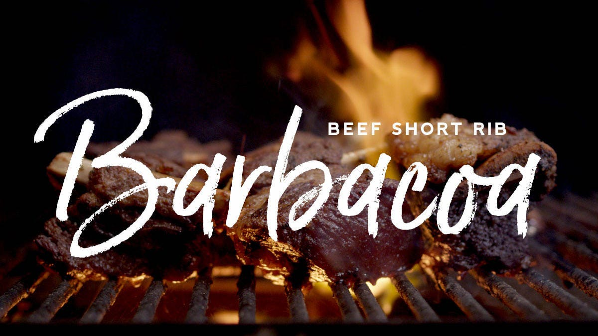 How to make Beef Short Rib Barbacoa