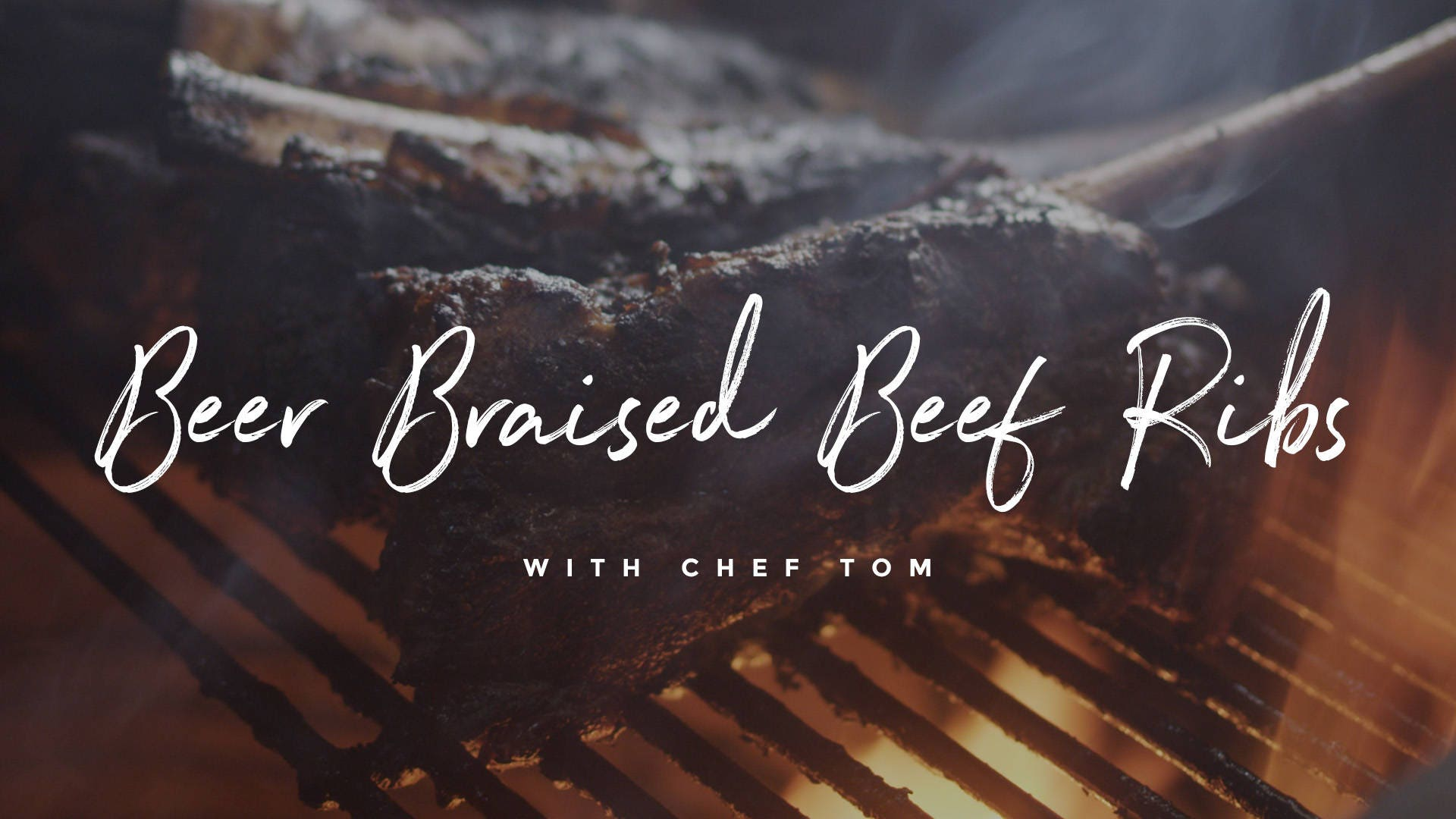 How to make Beer Braised Beef Ribs