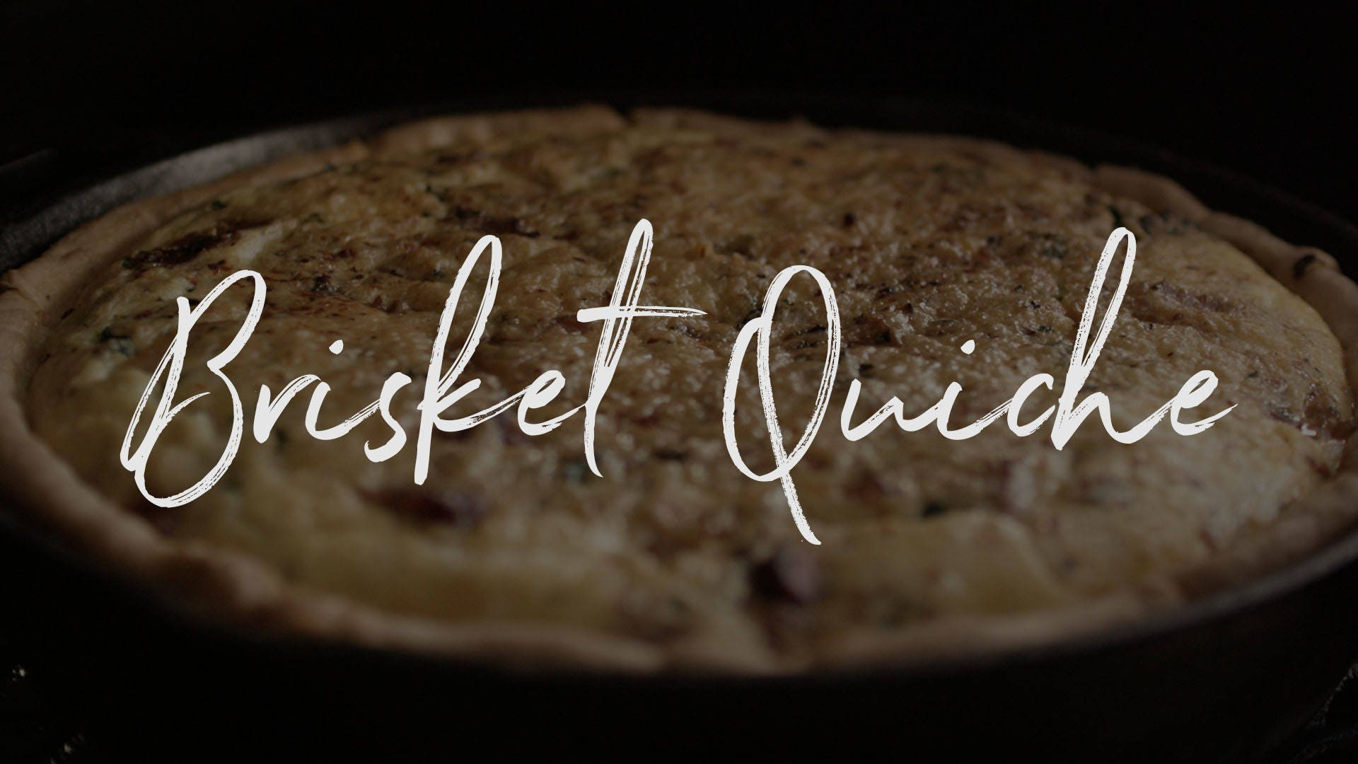 Brisket Quiche Recipe