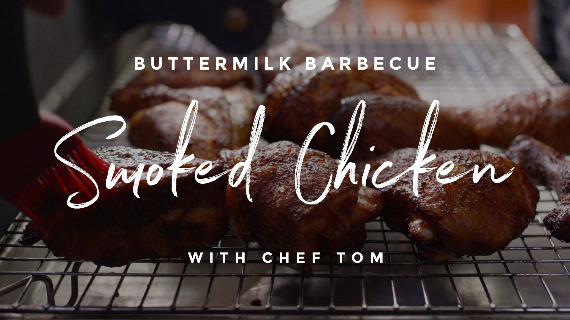 Buttermilk Barbecue Smoked Chicken Recipe