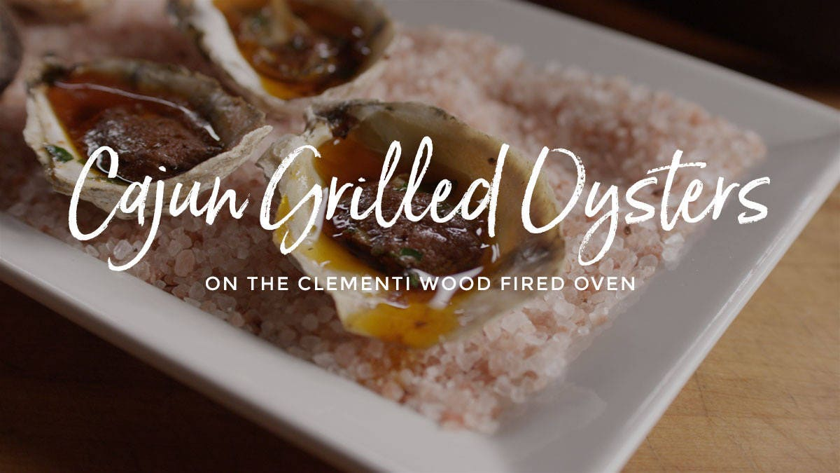 How to make Cajun Grilled Oysters