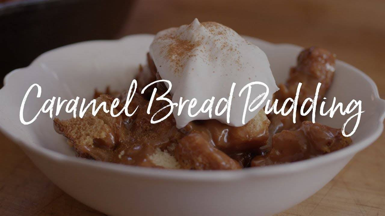 How to make Caramel Bread Pudding