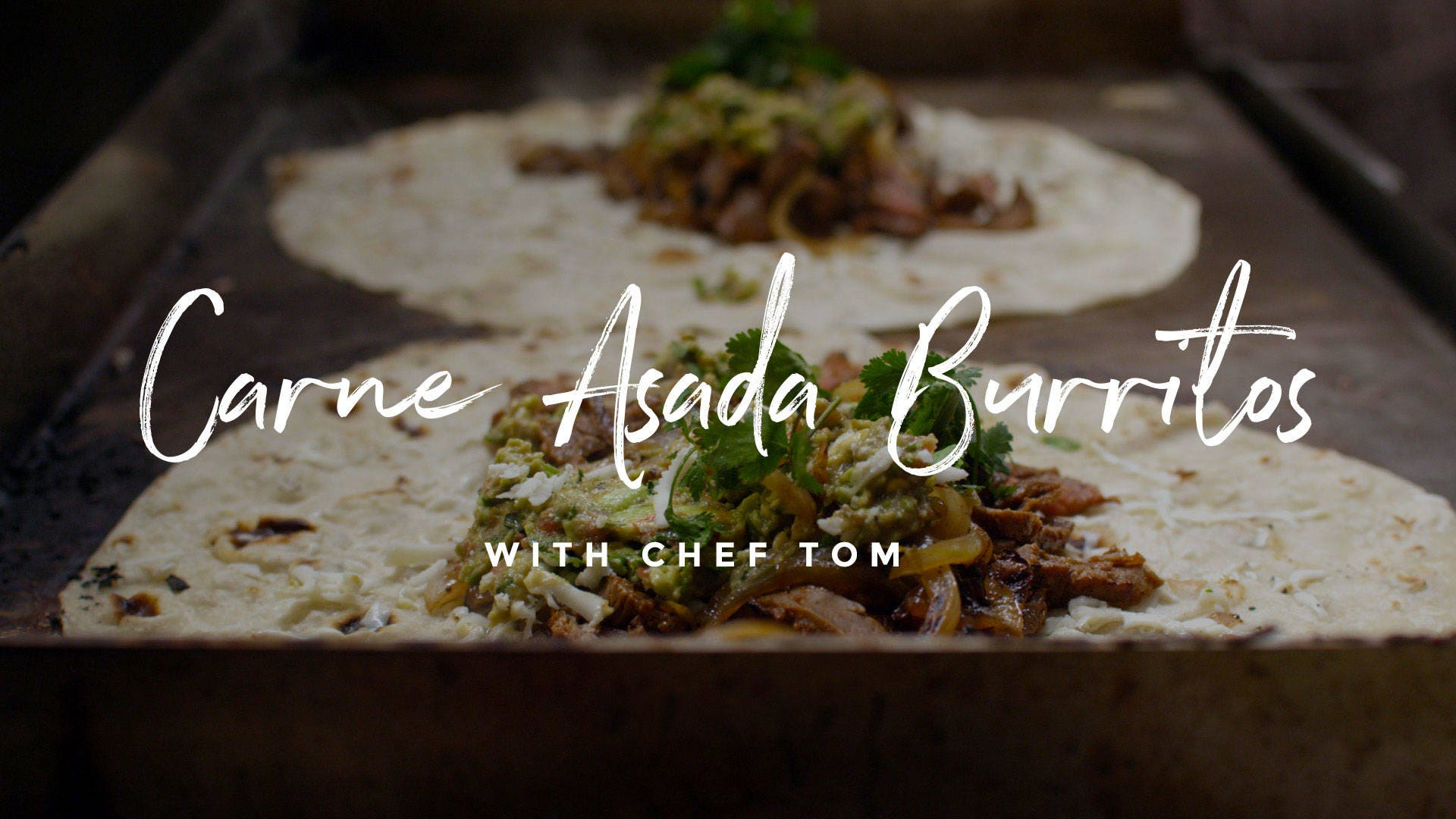 How to make Carne Asada Burritos