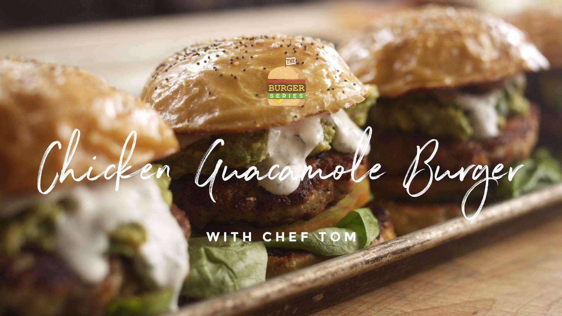 How to make Chicken Guacamole Burgers