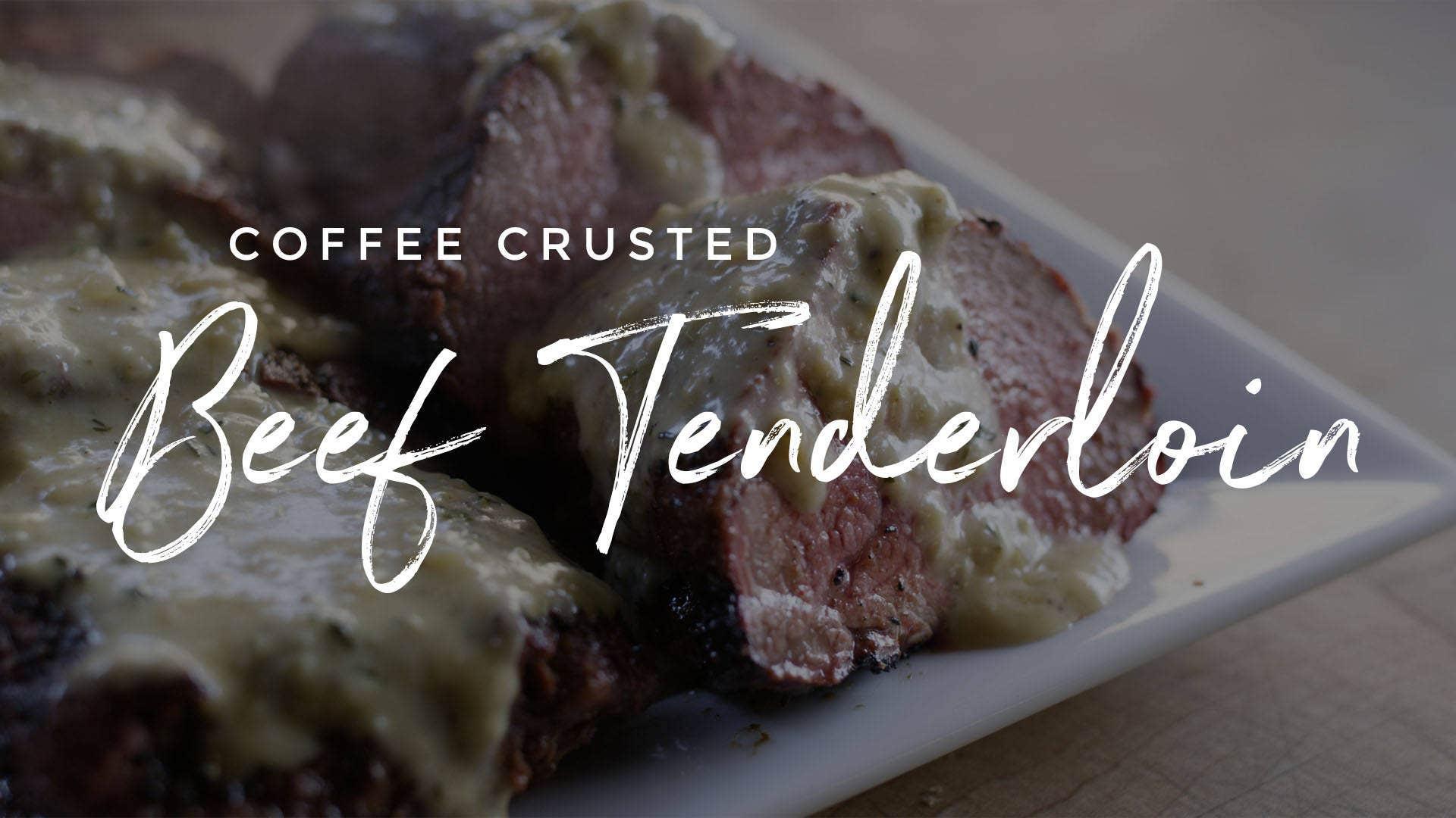 Coffee Crusted Beef Tenderloin Recipe