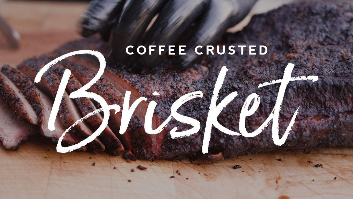 How to make Coffee Crusted Brisket