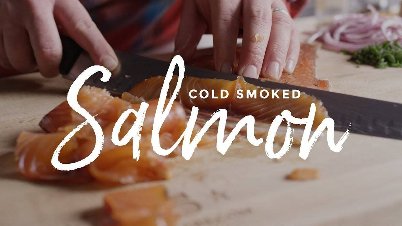 How to Make Cold Smoked Salmon