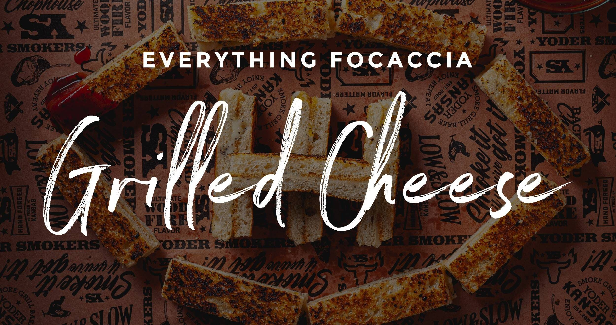 Everything Focaccia Grilled Cheese Recipe