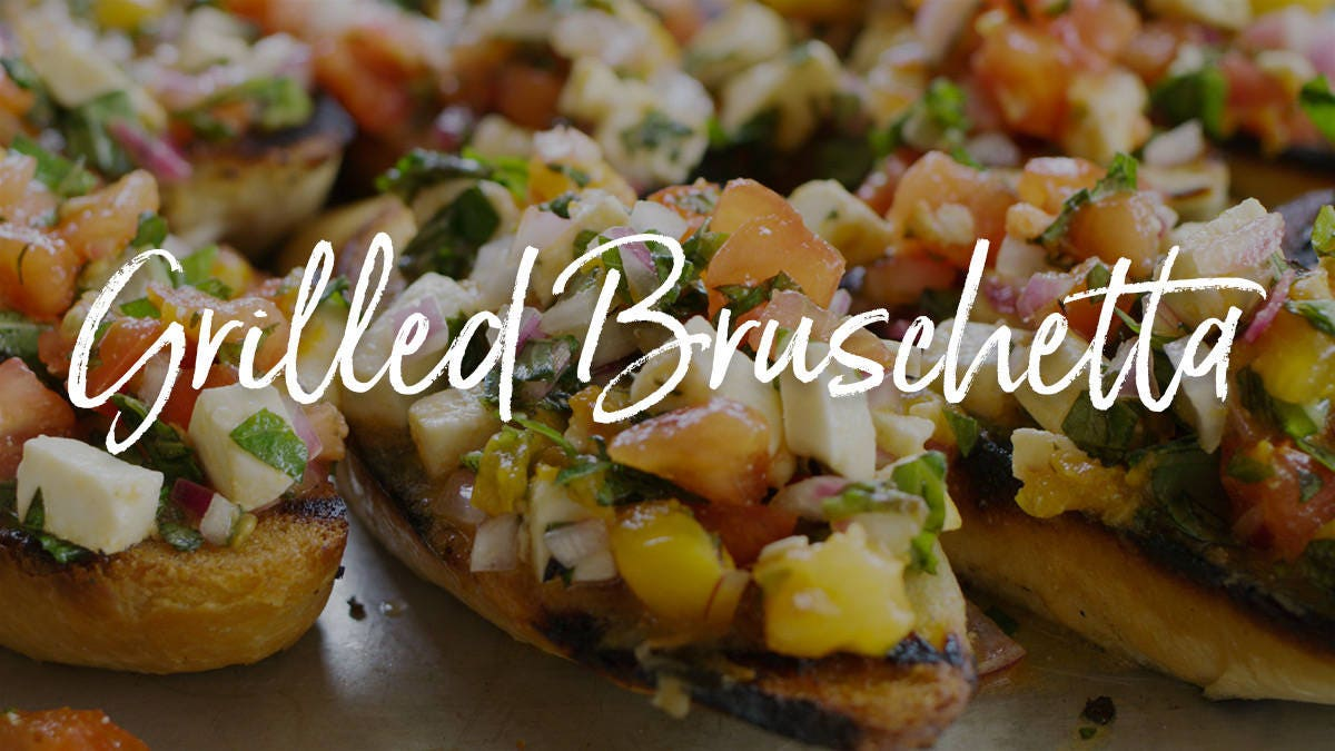 How to make Grilled Bruschetta