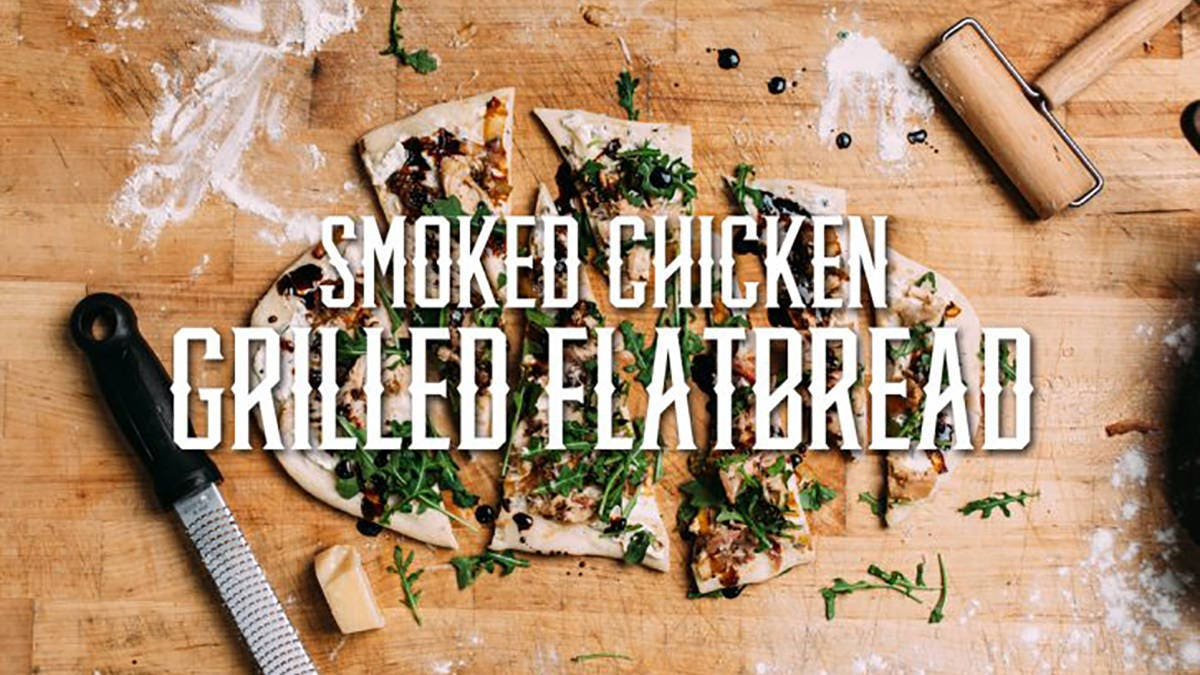 How to make Smoked Chicken Grilled Flatbread