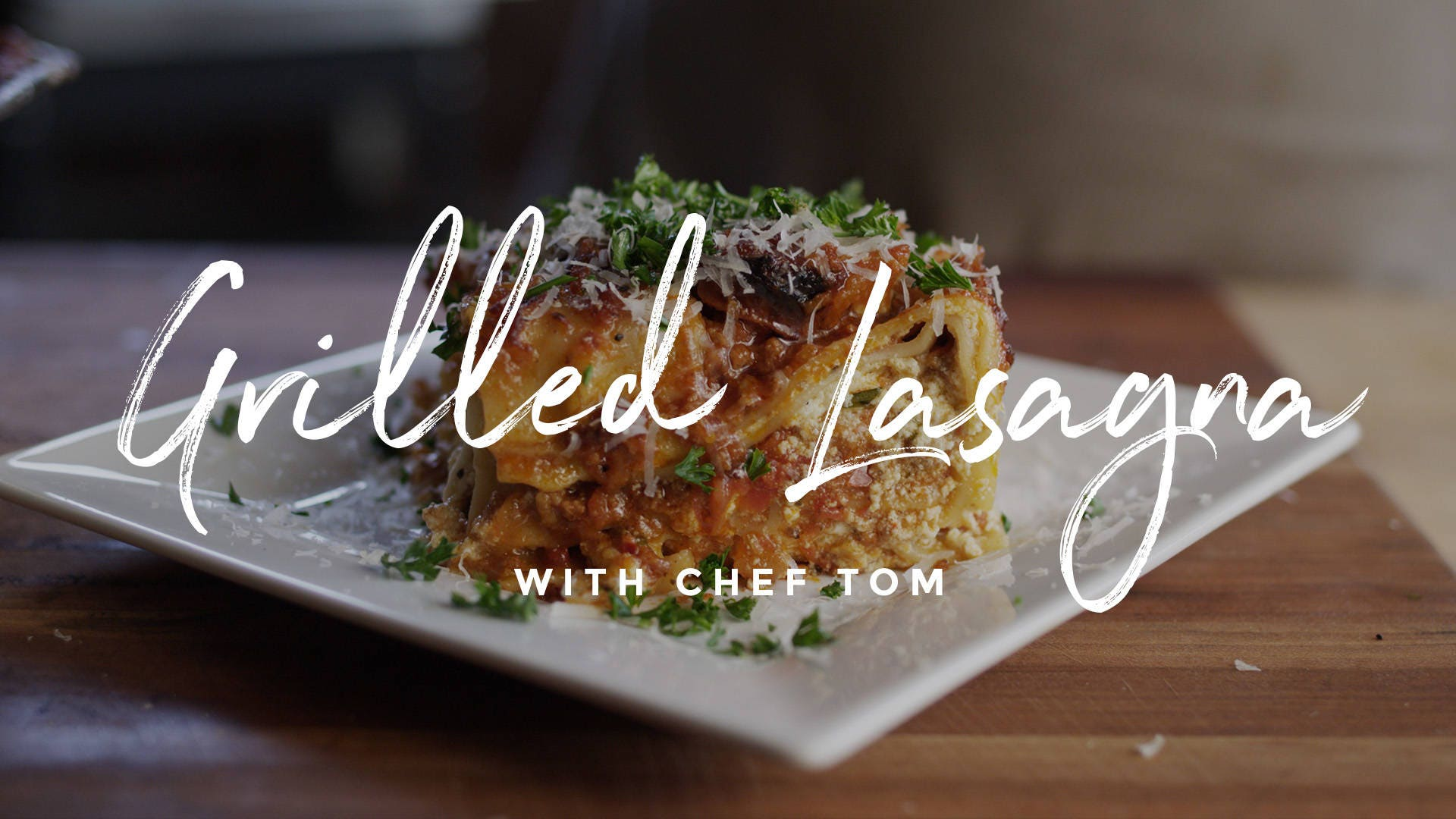 How to make Grilled Lasagna