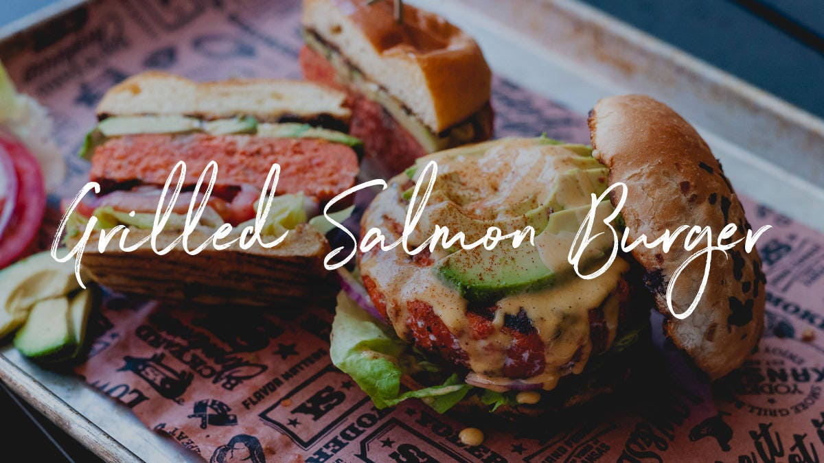 Salmon Cheeseburger Recipe