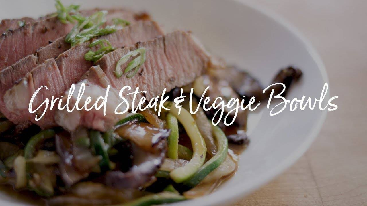 How to make Grilled Steak and Veggie Bowl