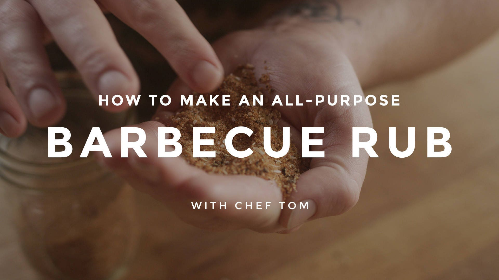 How to Make an All Purpose Barbecue Rub