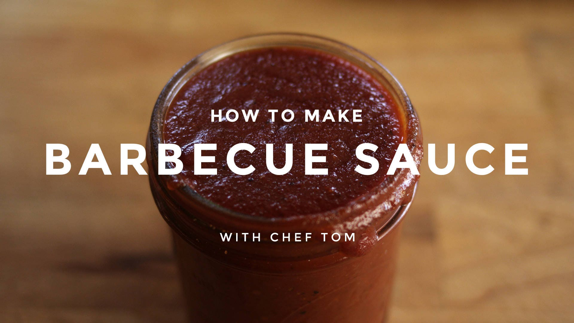 How to Make Barbecue Sauce