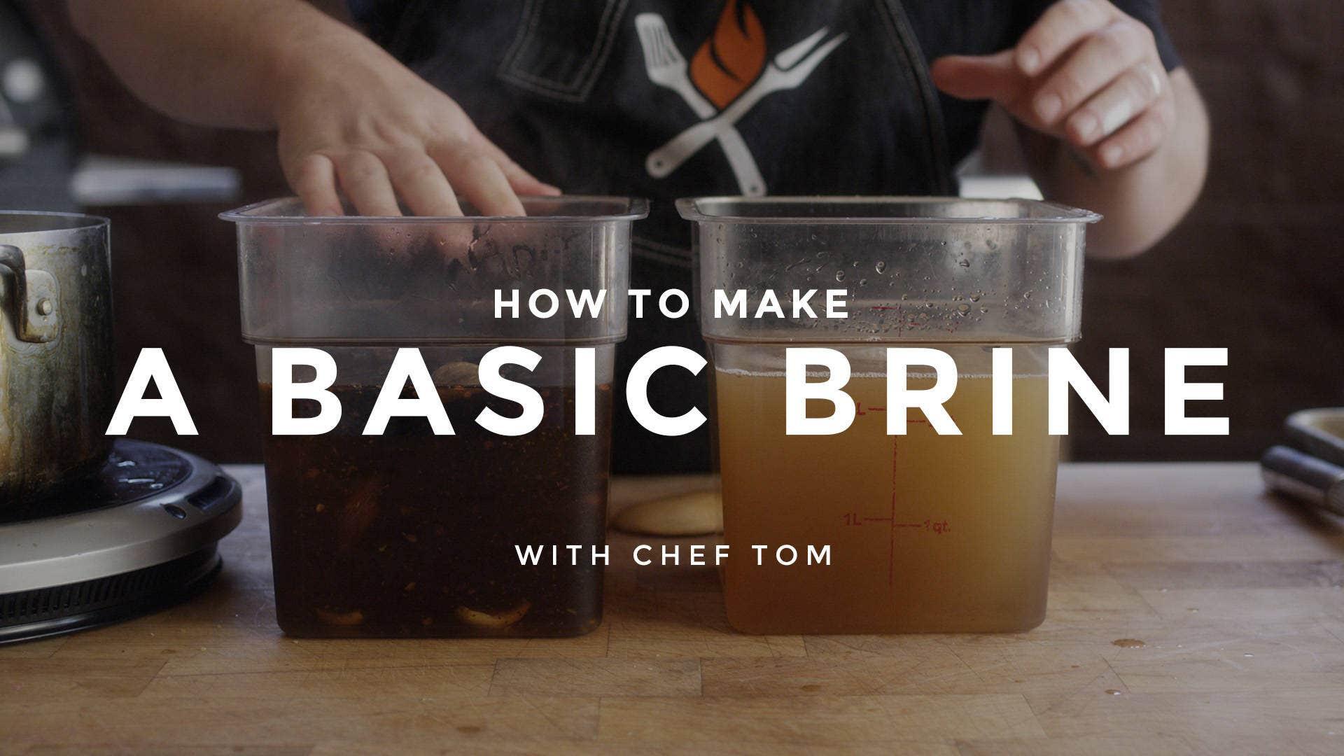 Basic Brine Recipe