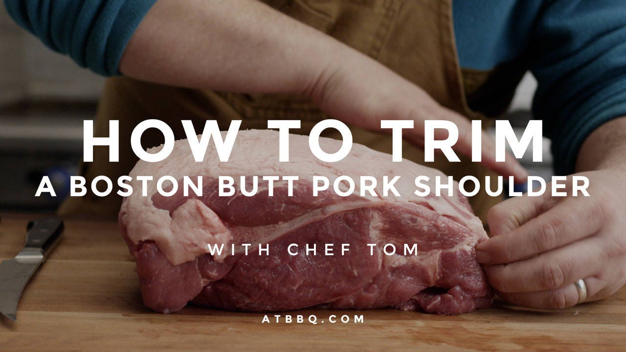 How to Trim a Boston Butt Pork Shoulder