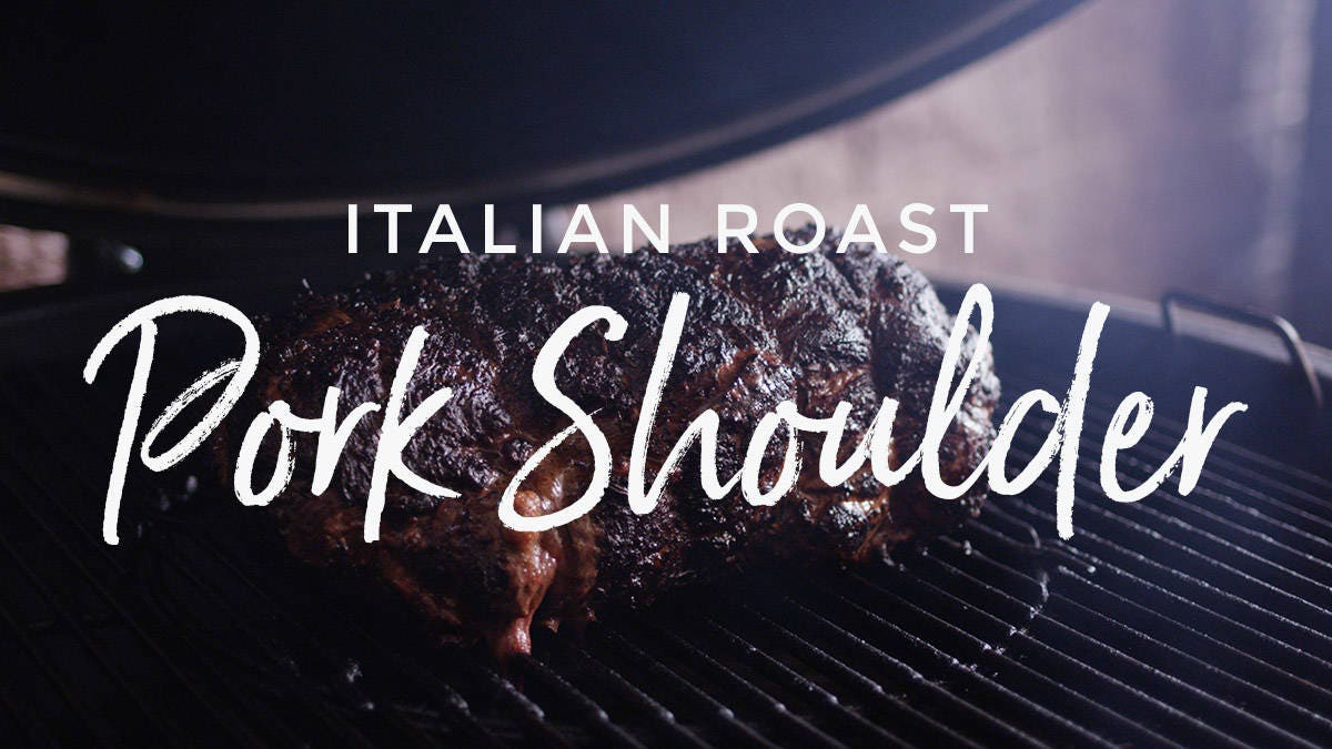 Italian Roast Pork Shoulder Recipe