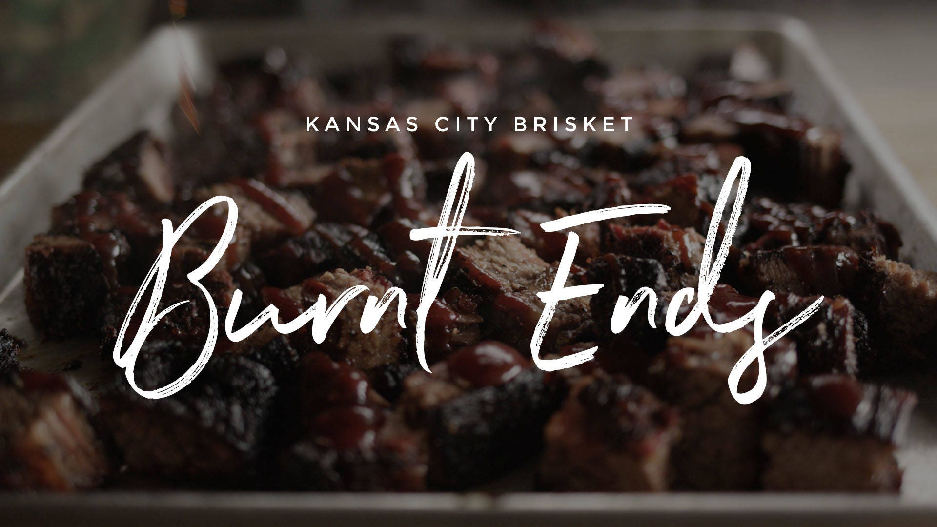Kansas City Brisket Burnt Ends Recipe