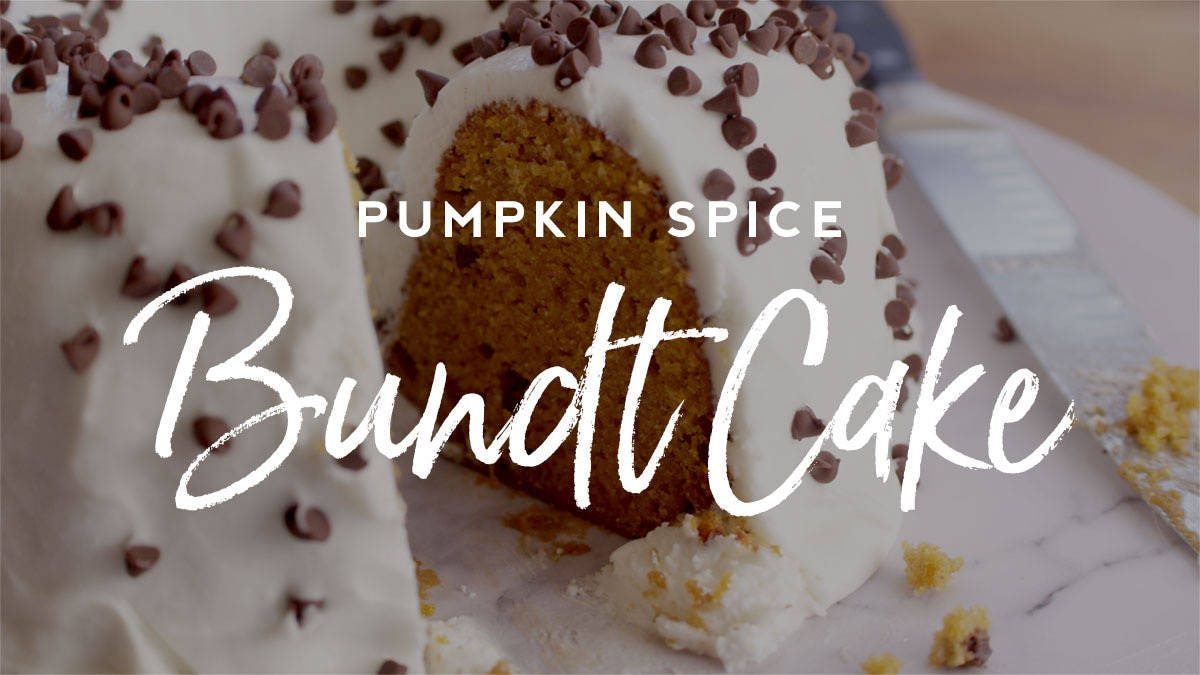 How to make Pumpkin Spice Bundt Cake