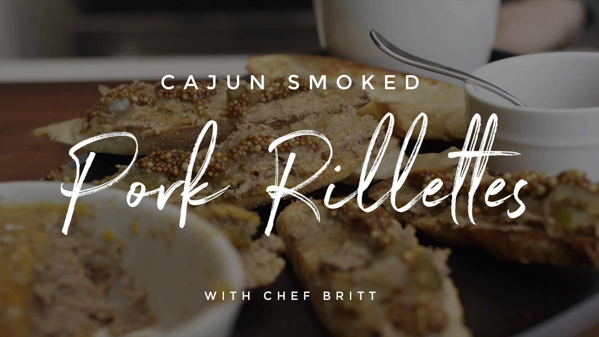 Cajun Smoked Pork Rillettes Recipe