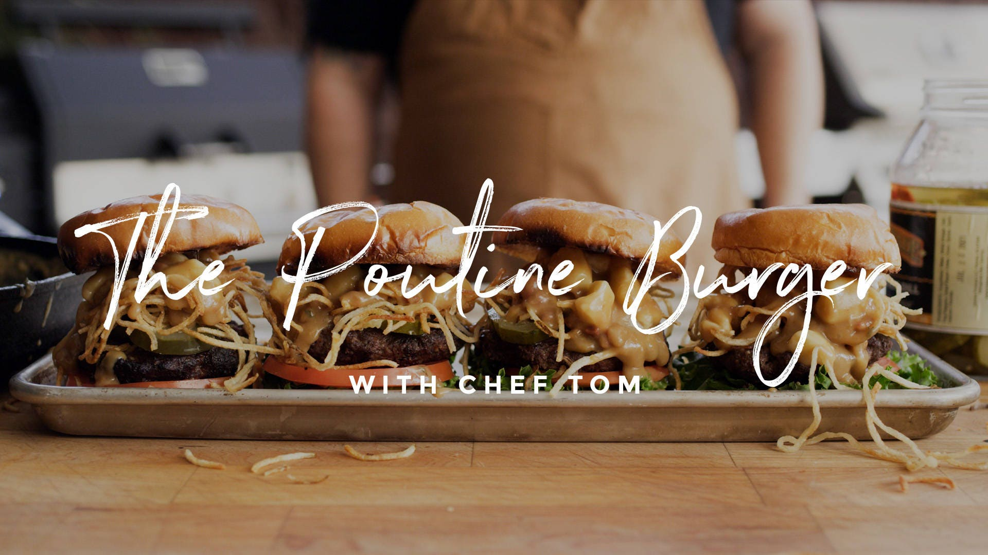 How to make Poutine Burger