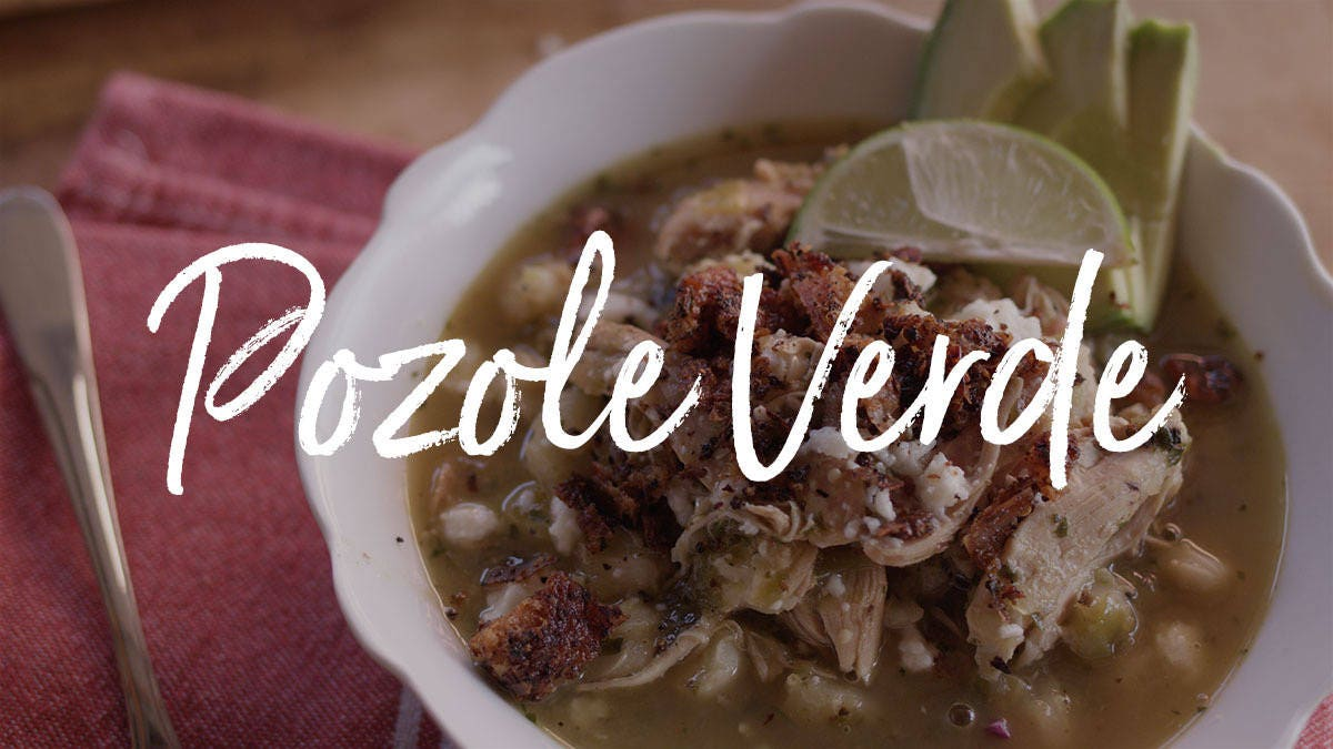 How to make Pozole Verde