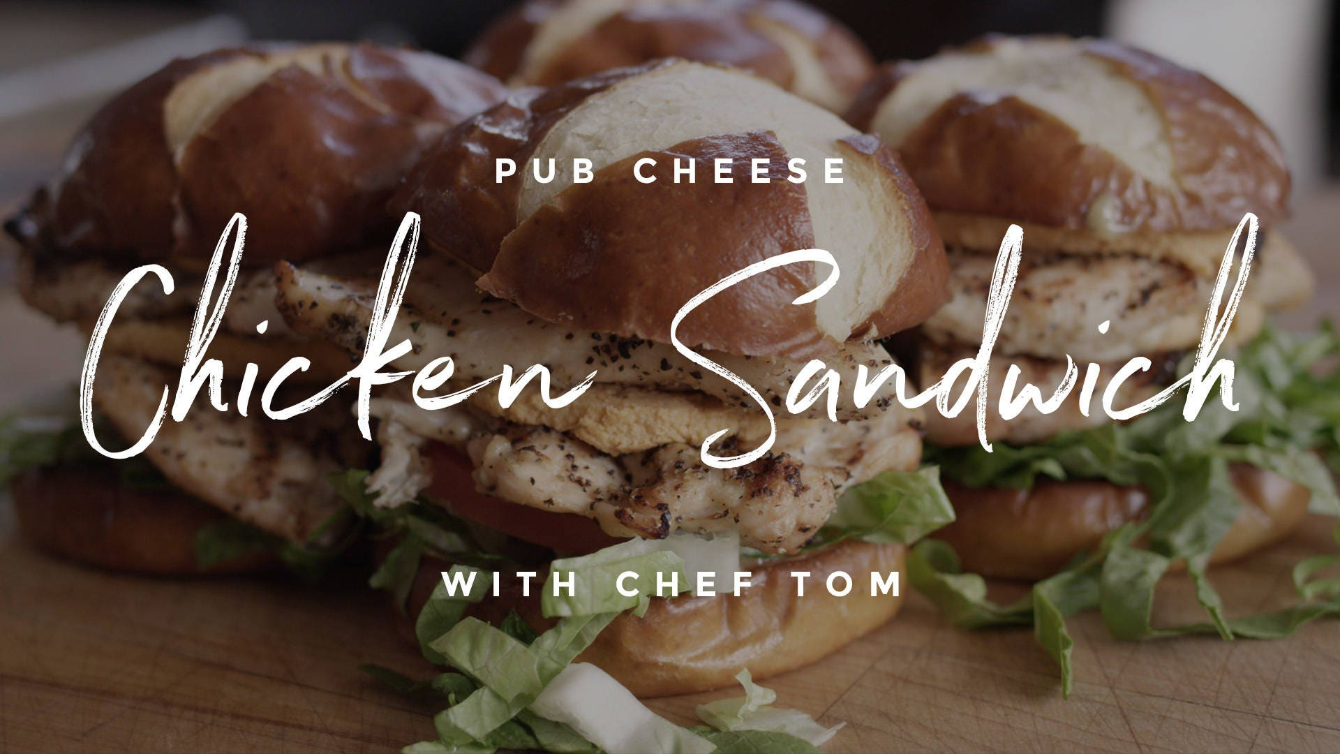 Pub Cheese Grilled Chicken Sandwich Recipe