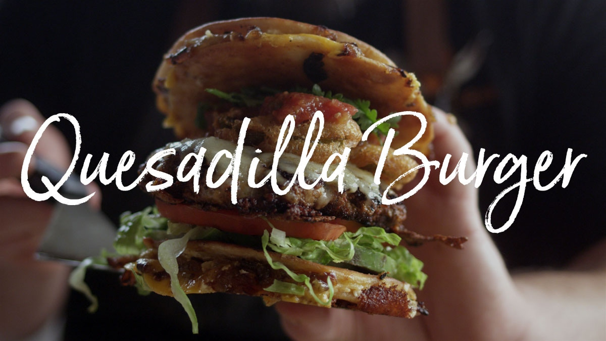 How to make Quesadilla Burger